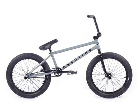 "Cult 2021 Devotion BMX Bike (21"" Toptube) (Grey)"