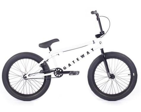 """Cult 2021 Gateway BMX Bike (20.5"""" Toptube) (White)"""