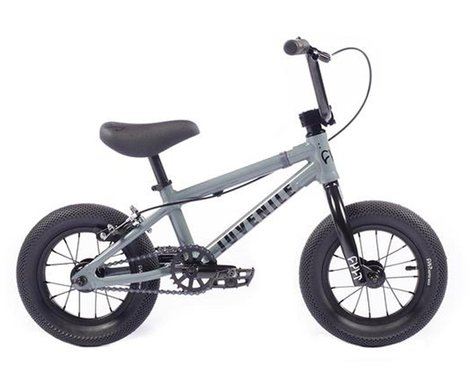 "Cult 2021 Juvenile 12"" BMX Bike (13.25"" Toptube) (Grey)"