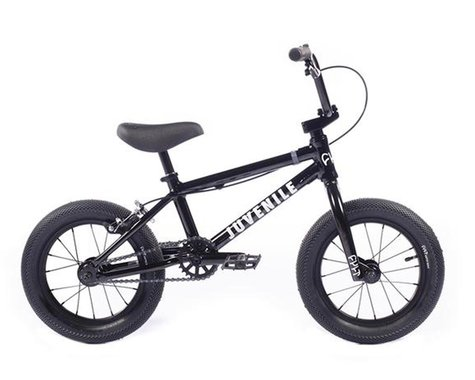 "Cult 2021 Juvenile 14"" BMX Bike (14.5"" Toptube) (Black)"