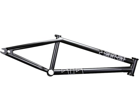 "Cult 2 Short BMX Frame -  20.75"" TT,  Black"