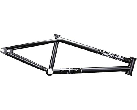 "Cult 2 Short BMX Frame -  21"" TT,  Black"