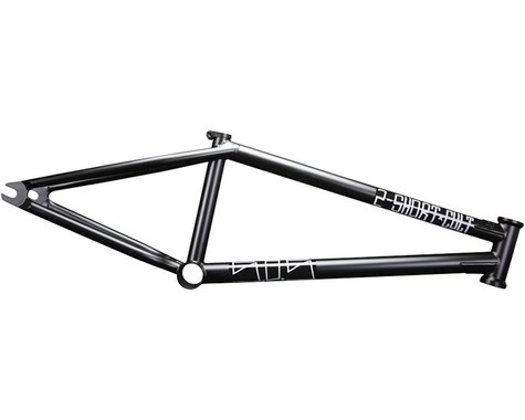 "Cult 2 Short BMX Frame -  21.25"" TT,  Black"