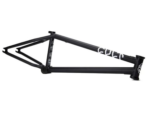 Cult Shorty IC BMX Frame (Sean Ricany) (Flat Black)