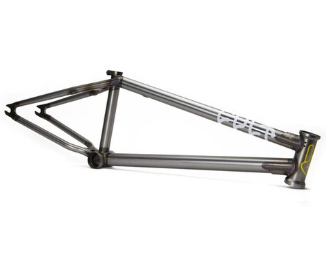 "Cult Shorty IC BMX Frame (Clear Raw) (20.75"")"