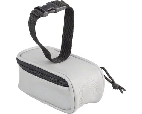 Cycleaware Beamer Fully Reflective Saddle Bag (Silver/Reflective)
