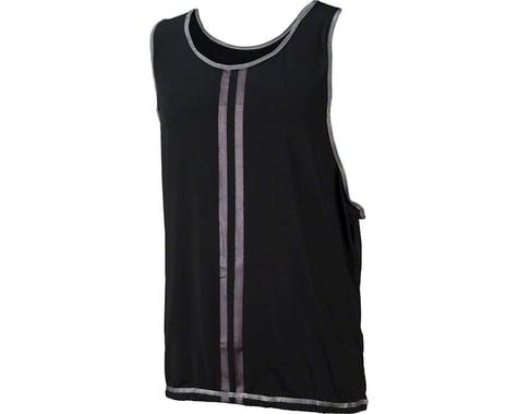 Cycleaware Reflect+ Hi-Vis Reflective Unisex Vest (Black/Stripes)