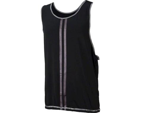Cycleaware Reflect+ Hi-Vis Reflective Unisex Vest (Black/Stripes) (S/M)