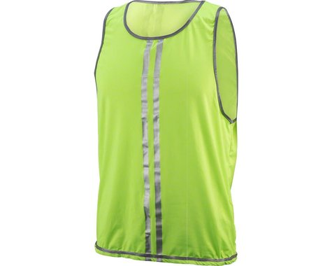 Cycleaware Reflect+ Hi-Vis Reflective Vest (Neon/Stripes) (S/M)