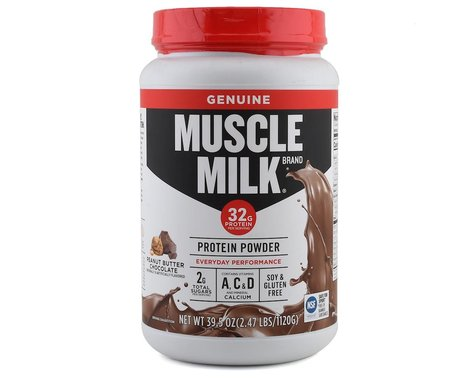 Cytosport Muscle Milk Protein Powder (Peanut Butter Chocolate) (2.47lbs)