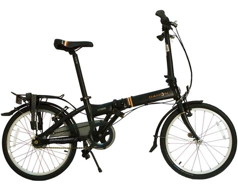"Dahon Vitesse i7 Folding Bike - 20"", Aluminum, Coffee"