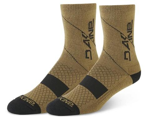 Dakine Berm Cycling Socks (Dark Olive) (M/L)