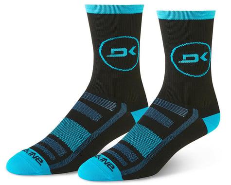 Dakine Singletrack Cycling Socks (Cyan/Black) (M/L)