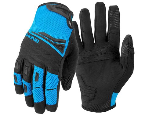 Dakine Cross-X Bike Gloves (Cyan) (L)