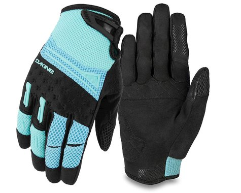 Dakine Women's Cross-X Bike Gloves (Nile Blue) (M)