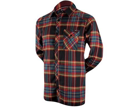 Dakine Oakridge Flannel Long Sleeve Jersey (Plaid)