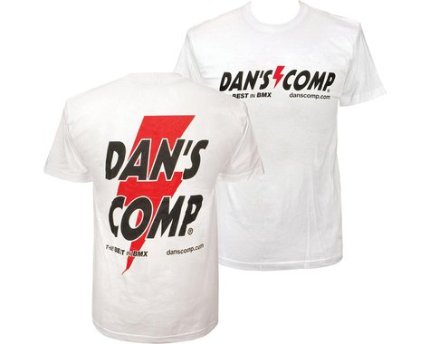 Dan's Comp Dans Comp Worlds T-Shirt (White) (3XL)