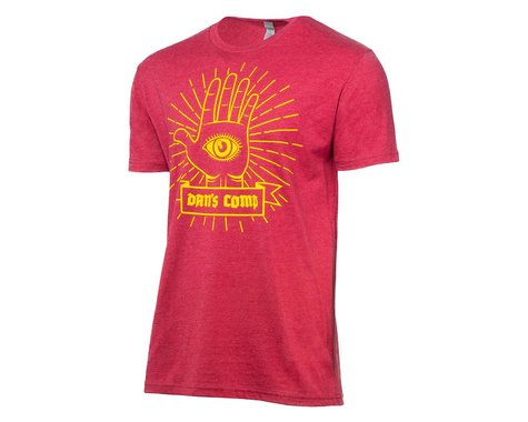 Dan's Comp Hamsa Short Sleeve T-Shirt (Maroon) (Men's) (S)