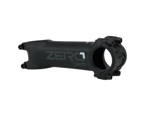 """Deda Elementi Zero1 Stem - 100mm, 31.8 Clamp, +/-6, 1 1/8"""", Aluminum, Matte Blac"""