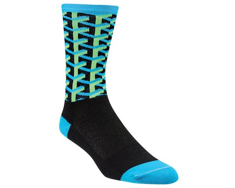 DeFeet Framework Socks (Black/Blue)
