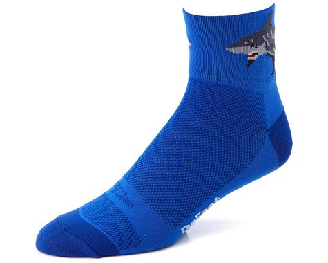 "DeFeet Aireator 3"" Sock (Shark Attack!) (L)"