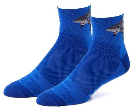 DeFeet Shark Attack! Aireator Socks (L)