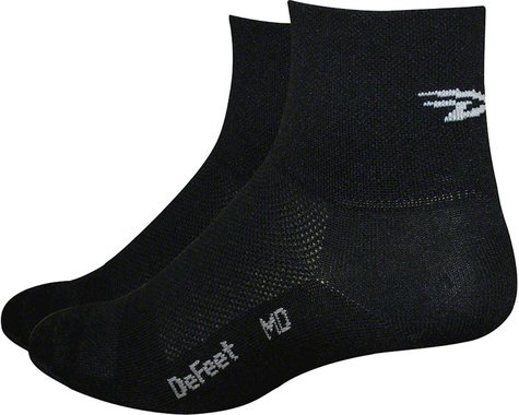 "DeFeet Aireator 4"" Sock (Black)"