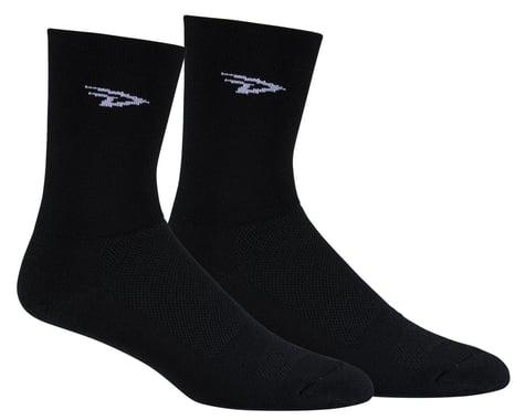 DeFeet Aireator High Top Sock (Black) (XL)