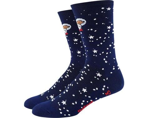 "DeFeet Aireator 6"" Doggo Sock (Navy Blue)"