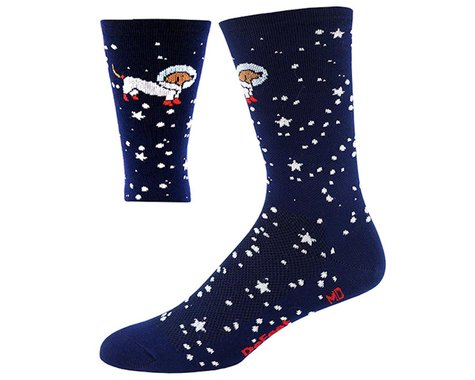 "DeFeet Aireator 6"" Doggo Sock (Navy Blue) (M)"