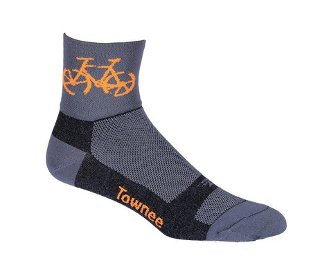 "DeFeet Aireator 3"" Townee Sock (Graphite) (M)"