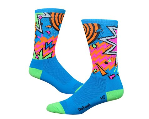 "DeFeet Aireator 6"" Shazam Socks (Blue/Green)"
