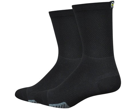 "DeFeet Cyclismo 5"" Sock (Black) (XL)"