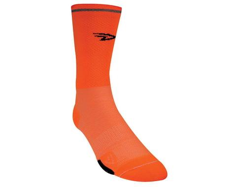 DeFeet Cyclismo Hi-Vis Reflective Socks (Orange) (Small)