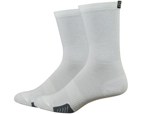 DeFeet Cyclismo Sock (White) (L)