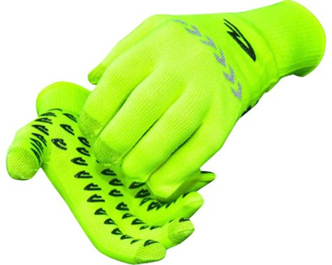 DeFeet Duraglove ET Glove (Hi-Vis Yellow w/ Reflector) (S)