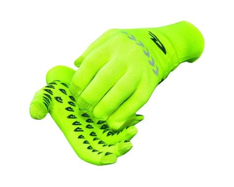 DeFeet Duraglove ET Glove (Hi-Vis Yellow w/ Reflector) (XL)