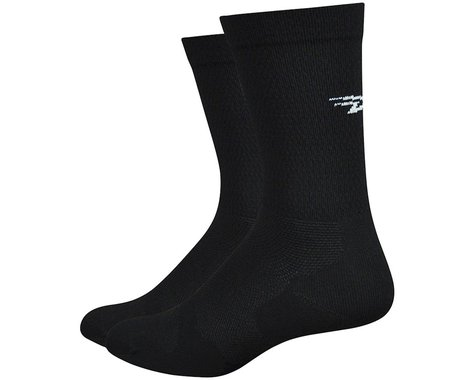 "DeFeet Levitator Lite 6"" Sock (Black) (S)"