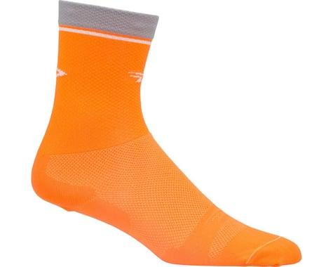 "DeFeet Levitator Lite 2 6"" Sock (Hi-Vis Orange)"
