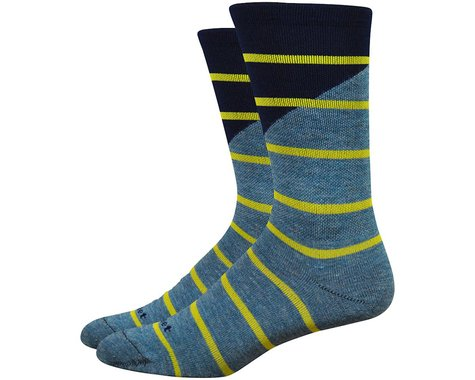 "DeFeet Mondo Comp 7"" Tieon Socks (Grey)"
