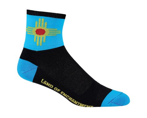 "DeFeet Aireator 5"" Socks (New Mexico) (M)"