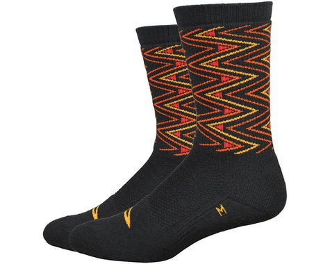 "DeFeet Thermeator 6"" Sharpened Socks (Black) (M)"