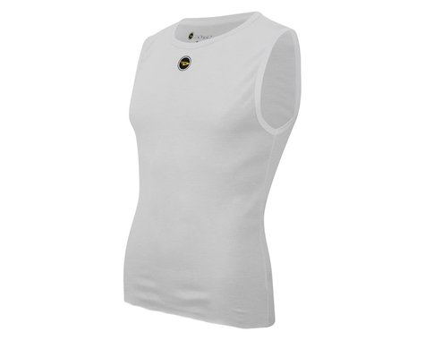 DeFeet UnD Short Sleeveless Base Layer (White) (L)