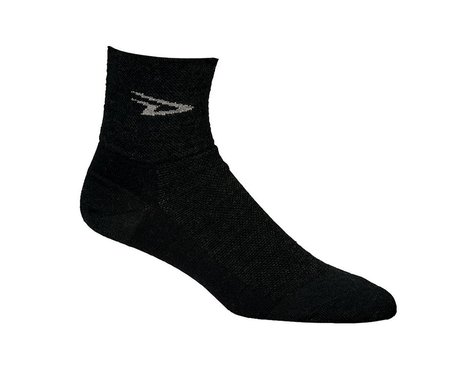 DeFeet Wooleator Sock (Charcoal Gray) (S)