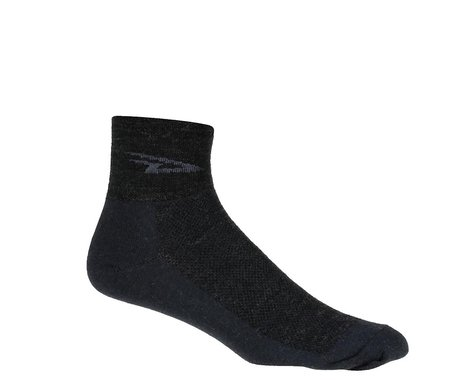 DeFeet Wooleator Sock (Charcoal Gray) (L)