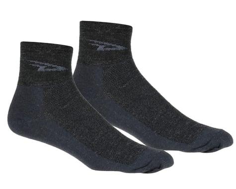 DeFeet Wooleator Sock (Charcoal Grey) (XL)