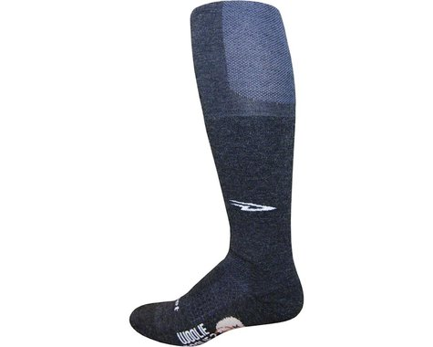 DeFeet Woolie Boolie Knee Hi Sock (Charcoal) (S)