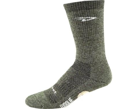 """DeFeet Woolie Boolie 6"""" Comp Sock (Loden Green) (M)"""