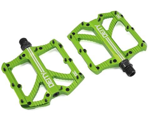 """Deity Bladerunner Pedals (Green) (Pair) (9/16"""")"""