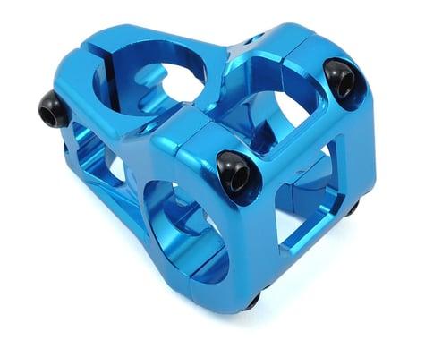 Deity Cavity Stem (Blue) (31.8mm Clamp) (35mm) (0°)